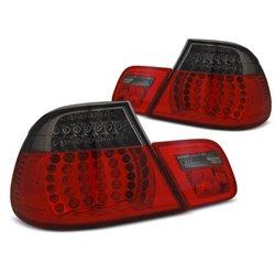 Coppia fari LED posteriori BMW Serie 3 E46 Coupe 03-06 Rosso Fumè