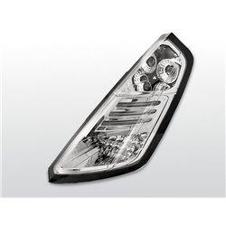 Coppia fari Led posteriori Fiat Grande Punto 05-09 Chrome
