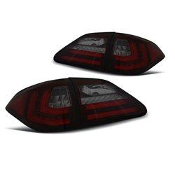 Coppia fari Led Bar posteriori Lexus RX 350 09-12 Rossi e Fume