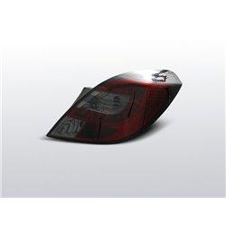 Coppia fari Led posteriori Opel Corsa D 3p. 06-14 Rossi Fume