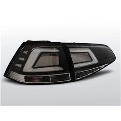 Coppia fari Led Bar posteriori Volkswagen Golf VII 13- Neri