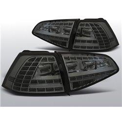 Coppia fari Led posteriori Volkswagen Golf VII 13- GTI Look Fume