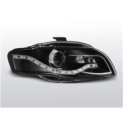 Fari Led vera luce diurna ottica Audi A4 B7 04-08