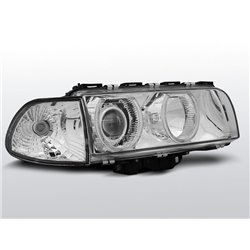 Fari Angel Eyes BMW Serie 7 E38 94-98 Chrome