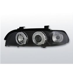 Fari Angel Eyes BMW Serie 5 E39 95-03 Neri