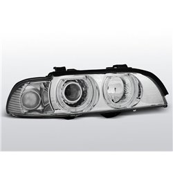 Fari Angel Eyes BMW Serie 5 E39 95-03 Chrome