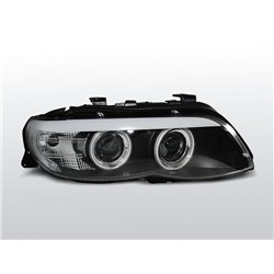 Fari Led Angel Eyes e Xenon BMW X5 E53 03-06