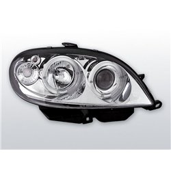 Fari Angel Eyes Citroen Saxo 99-03 Chrome