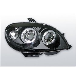Fari Angel Eyes Citroen Saxo 99-03 Neri