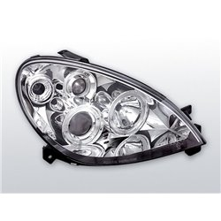 Fari Angel Eyes Citroen Xsara 00-04 Chrome