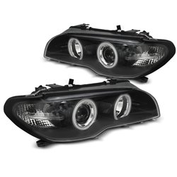 Fari Xenon Angel Eyes CCFL BMW Serie 3 E46 03-06 Coupe & Cabrio
