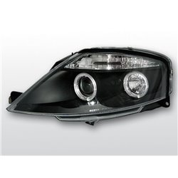 Fari Angel Eyes Citroen C3 02-09 Neri