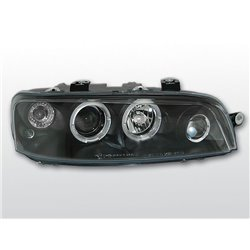 Fari Angel Eyes Fiat Punto II 99-03 Neri