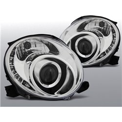 Fari a Led Fiat 500 2007- Chrome