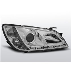 Coppia di fari a Led stile luce diurna Lexus IS 01-05 Chrome