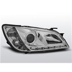 Coppia di fari a Led stile luce diurna Lexus IS 01-05 Chrome