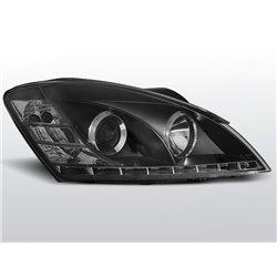 Coppia di fari a Led stile luce diurna Lexus IS 01-05 Neri