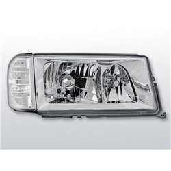 Coppia di fari Design Mercedes W201 (190) 82-93 Chrome