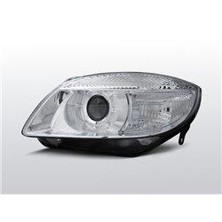 Fari Design Skoda Fabia 07-10 / Roomster 06-10 Chrome