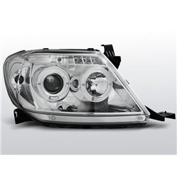 Fari Angel Eyes Toyota Hilux 05-11 Chrome