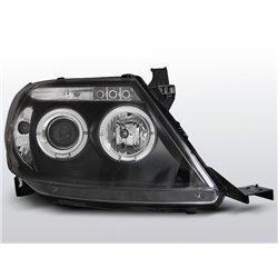 Fari Angel Eyes Toyota Hilux 05-11 Neri