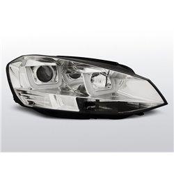 Coppia di fari DRL vera luce diurna Volkswagen Golf VII 12 Chrome