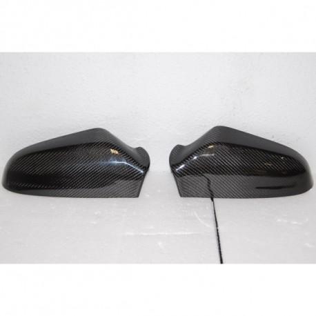 Calotte coprispecchi in carbonio Opel Astra H