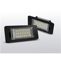Luci targa LED AUDI Q5 / A4 08-10 / A5 / TT / VW PASSAT B6 KOMBI