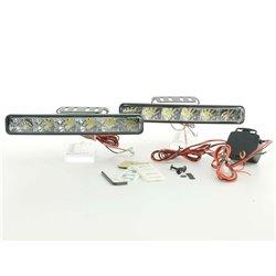 Luci diurne LED universali per auto camper furgone