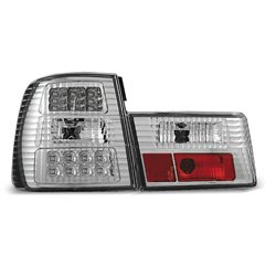 Coppia fari Led posteriori BMW Serie 5 E34 88-95 Chrome
