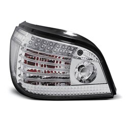 Coppia fari Led posteriori BMW Serie 5 E60 03-07 Chrome