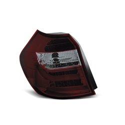 Coppia fari Led Bar posteriori BMW Serie 1 E81-E87 07-11 Rossi Fume