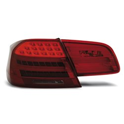 Coppia fari Led Bar posteriori BMW Serie 3 E92 Coupe 06-10 Rossi Fume