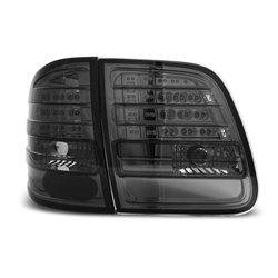 Coppia fari Led posteriori Mercedes Classe E W210 station 95-02 Fume