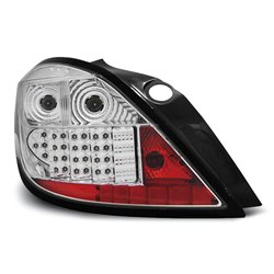 Coppia fari Led posteriori Opel Astra H 5p. 04-09 Chrome