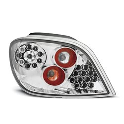 Coppia fari Led posteriori Peugeot 307 01-07 Chrome