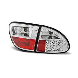 Coppia fari Led posteriori Seat Leon 99-04 Chrome