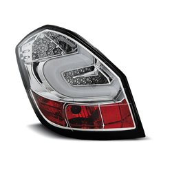 Coppia fari Led Bar posteriori Skoda Fabia 07-14 Chrome