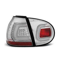 Coppia fari Led Bar posteriori Volkswagen Golf V 03-09 Chrome