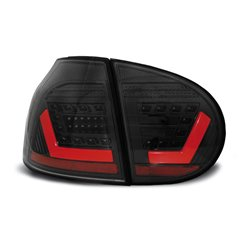 Coppia fari Led Bar posteriori Volkswagen Golf V 03-09 Neri