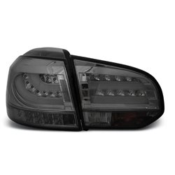Coppia fari Led Bar posteriori Volkswagen Golf VI 08-12 Fume