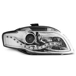 Coppia di fari a Led stile luce diurna Audi A4 B7 04-08