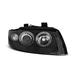Fari Angel Eyes Xenon Audi A4 B6 00-04