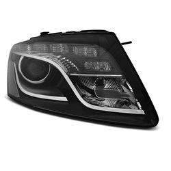 Fari Led vera luce diurna Audi Q5 08-12 Neri