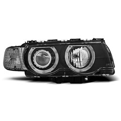 Fari Angel Eyes BMW serie 7 E38 98-01 Neri