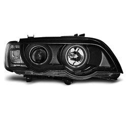 Coppia di fari Xenon e CCFL Led stile luce diurna BMW X5 E53 99-03