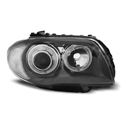 Fari Angel LED Eyes BMW Serie 1 E87-E81 04-07 Neri