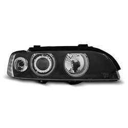 Fari Angel Eyes CCFL BMW Serie 5 E39 95-03 Neri