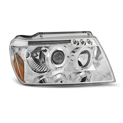 Fari Angel Eyes Chrysler Jeep Grand Cherokee 99-05 Chrome