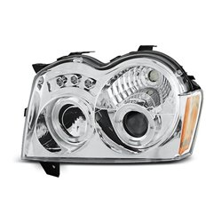 Fari Angel Eyes Chrysler Jeep Grand Cherokee 05-08 Chrome